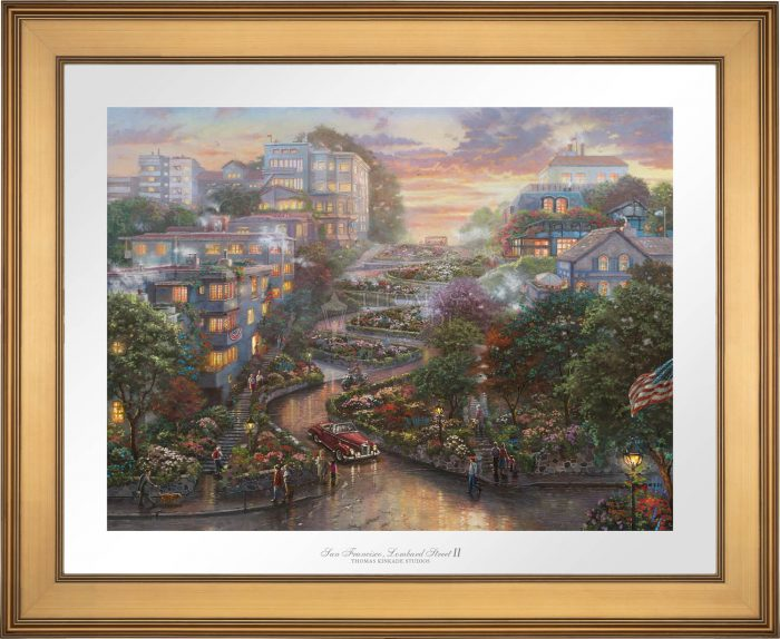 San Francisco, Lombard Street II – Limited Edition Paper
