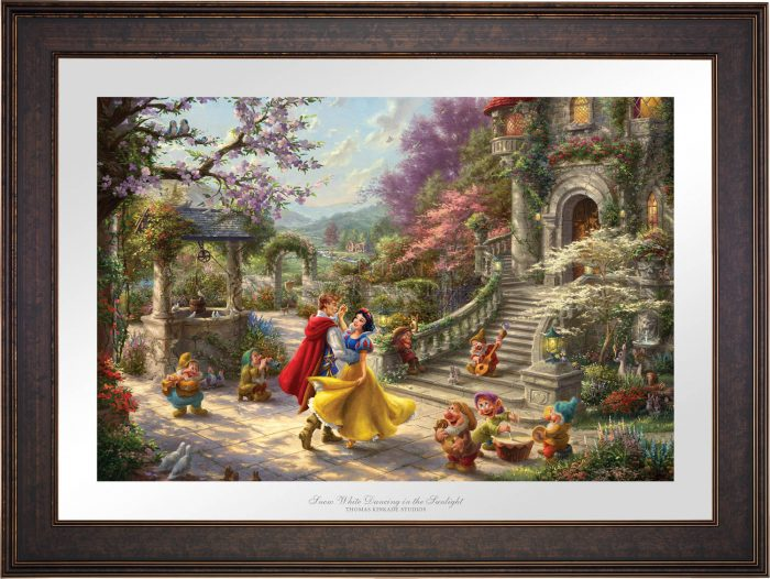 Snow White Dancing in the Sunlight – Limited Edition Paper
