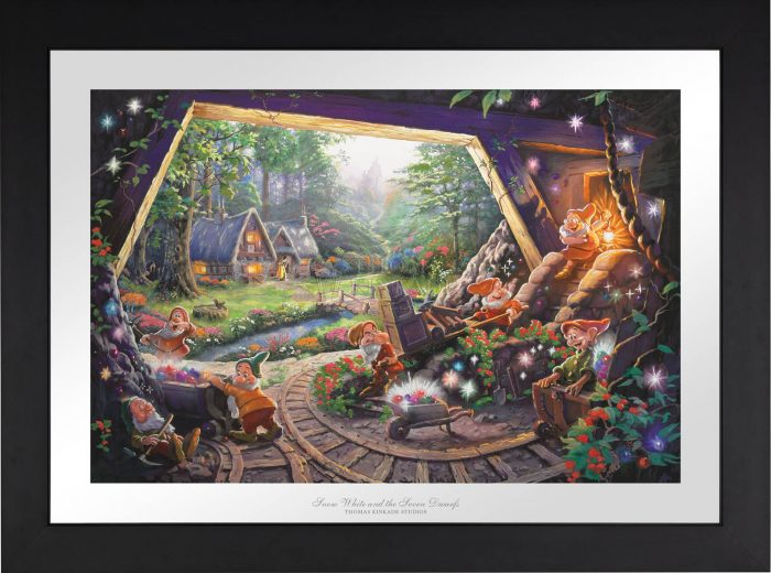 Snow White and the Seven Dwarfs – Limited Edition Paper