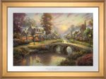 Sunset on Lamplight Lane – Limited Edition Paper