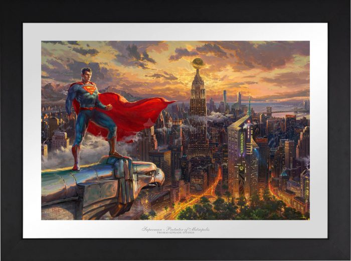 Superman – Protector of Metropolis – Limited Edition Paper