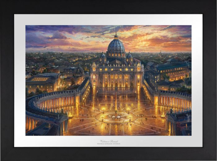 Vatican Sunset – Limited Edition Paper