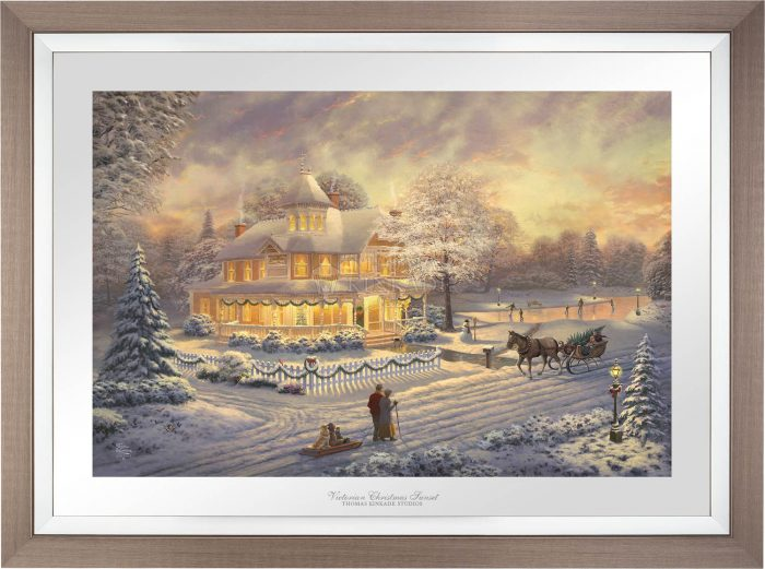 Victorian Christmas Sunset – Limited Edition Paper