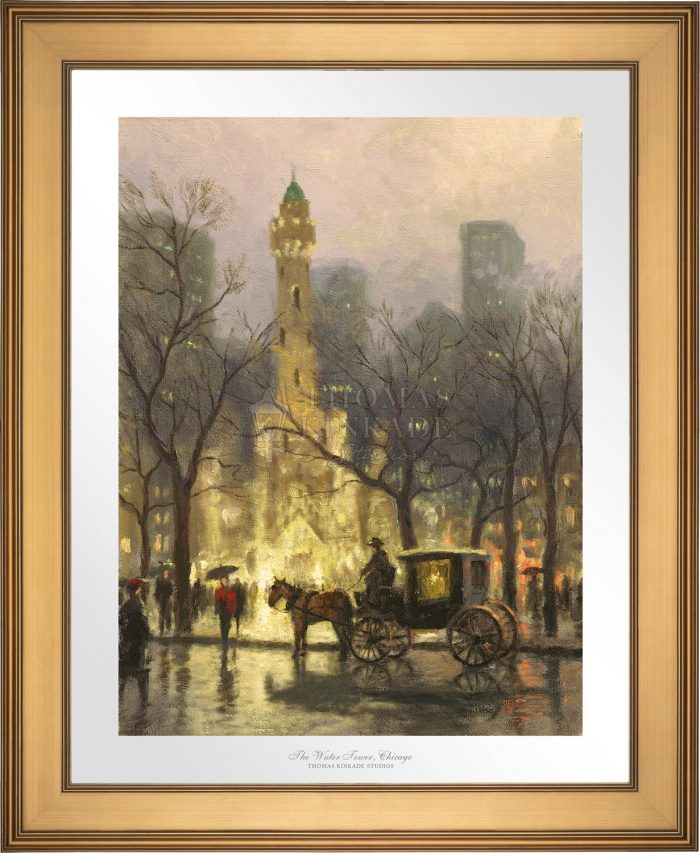 The Water Tower, Chicago – Limited Edition Paper
