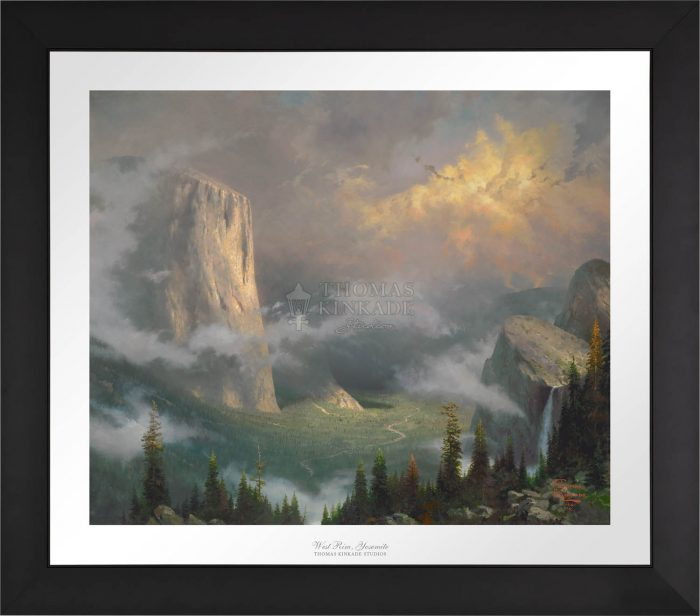 West Rim, Yosemite – Limited Edition Paper