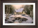 Winter Light Cottage – Limited Edition Paper
