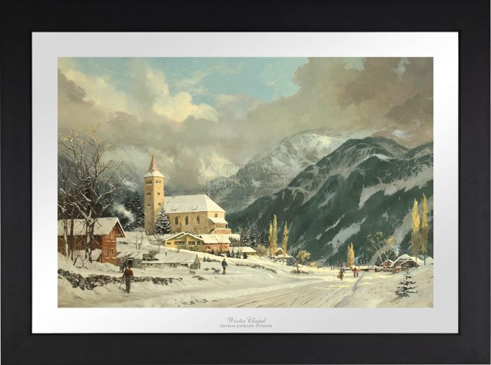 Winter Chapel – Limited Edition Paper