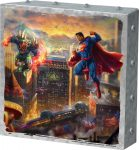Superman – Man of Steel – 10″ x 10″ Metal Box Art