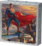 Superman – Protector of Metropolis – 10″ x 10″ Metal Box Art
