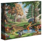 Winnie The Pooh I – 8″ x 10″ – Gallery Wrapped Canvas