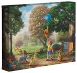 Winnie The Pooh II – 8″ x 10″ – Gallery Wrapped Canvas