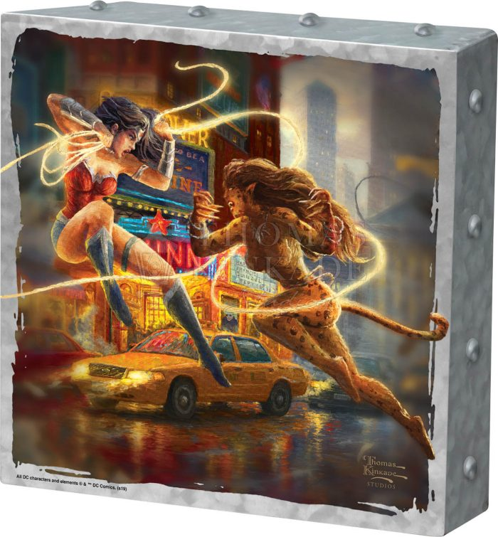 The Women of DC – 10″ x 10″ Metal Box Art
