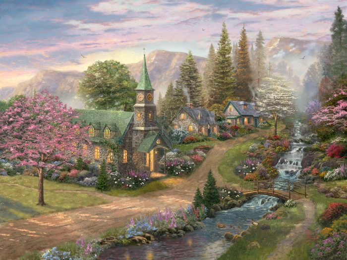 Sunday Morning Chapel – Limited Edition Canvas