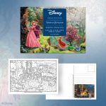 New Andrews McMeel – Disney Color Your Own Postcard