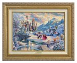 Beauty and the Beast's Winter Enchantment – Canvas Classics