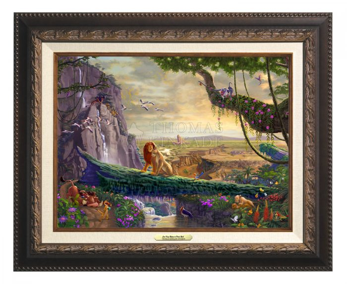 Disney The Lion King – Return to Pride Rock – Canvas Classics