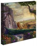 Disney The Lion King – Return to Pride Rock – 14″ x 14″ Gallery Wrapped Canvas