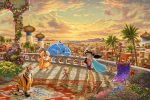 Jasmine Dancing in the Desert Sunset – Limited Edition Canvas