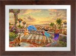 Jasmine Dancing in the Desert Sunset – Limited Edition Paper