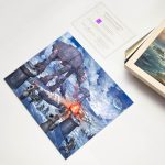 The Battle Of Hoth – 11″ x 14″ Art Print