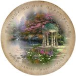 "The Garden of Prayer - 12.5"" x 12.5"" Personalized Serving Tray"