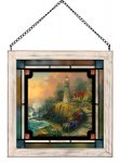 The Light of Peace – 8″ x 8″ Stained Glass Art