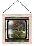Garden of Prayer – 8″ x 8″ Stained Glass Art
