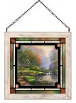 Reflections of Faith – 8″ x 8″ Stained Glass Art
