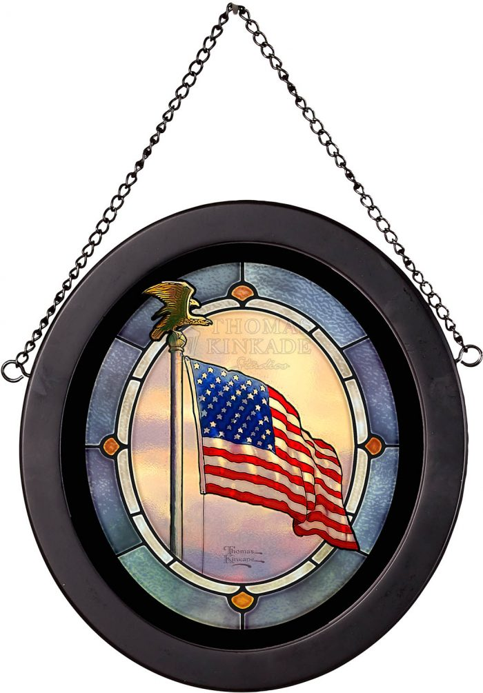Americas Pride – 8″ x 7″ Stained Glass Art
