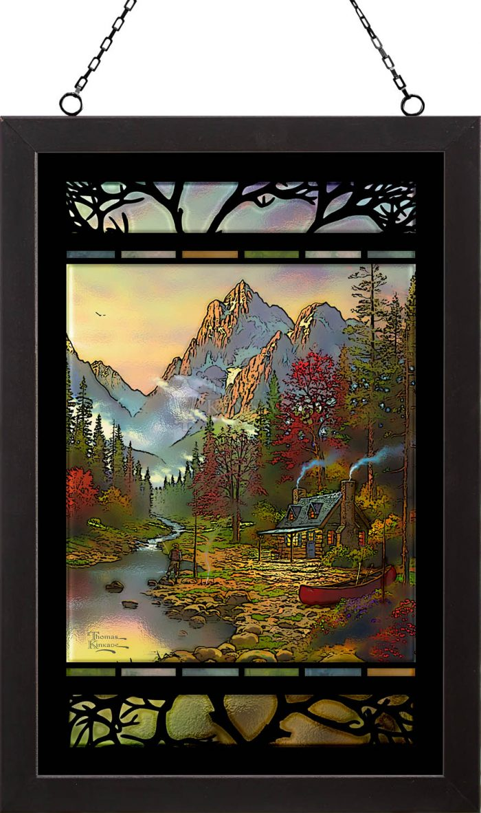 The Good Life – 18″ x 12″ Stained Glass Art