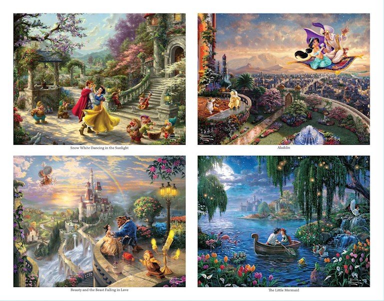 Disney Dreams Collection by Thomas Kinkade Studios Princess Coloring Book