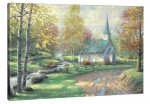 The Aspen Chapel – 24″ x 36″ Gallery Wrap Canvas