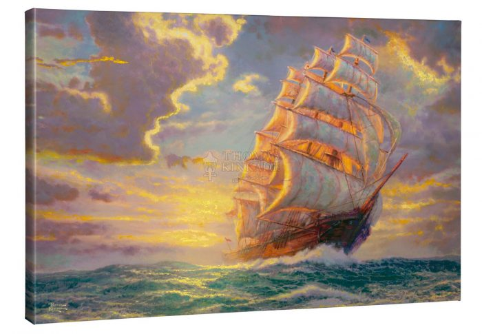 Courageous Voyage – 24″ x 36″ Gallery Wrap Canvas