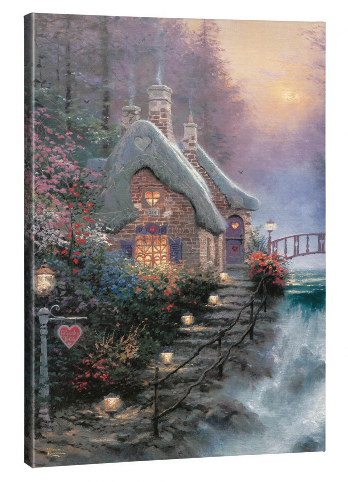 Sweetheart Cottage II – 24″ x 36″ Gallery Wrap Canvas