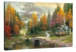 Valley of Peace – 24″ x 36″ Gallery Wrap Canvas