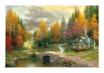 "Valley of Peace - 24"" x 36"" Gallery Wrap Canvas"