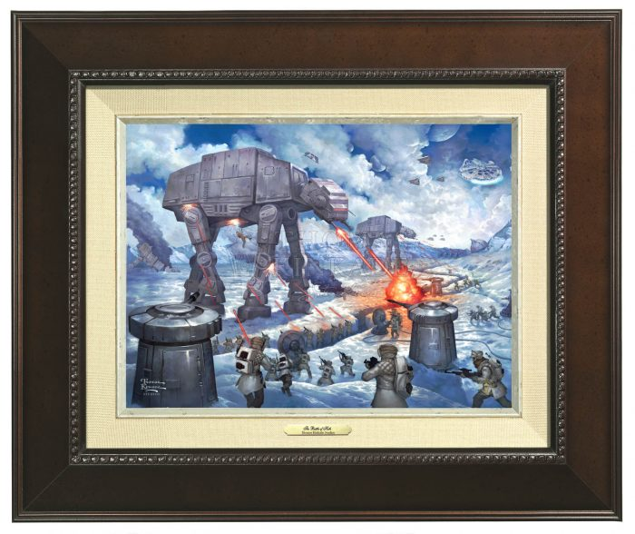 The Battle Of Hoth – Canvas Classics
