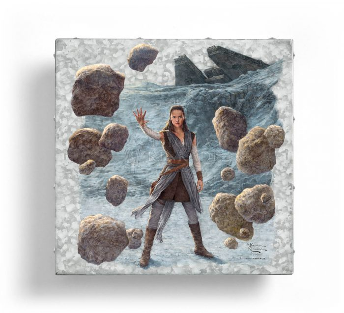 Rey of Hope – 14″ x 14″ Metal Box Art