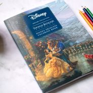 Disney Dreams Collection by Thomas Kinkade Studios Coloring Book