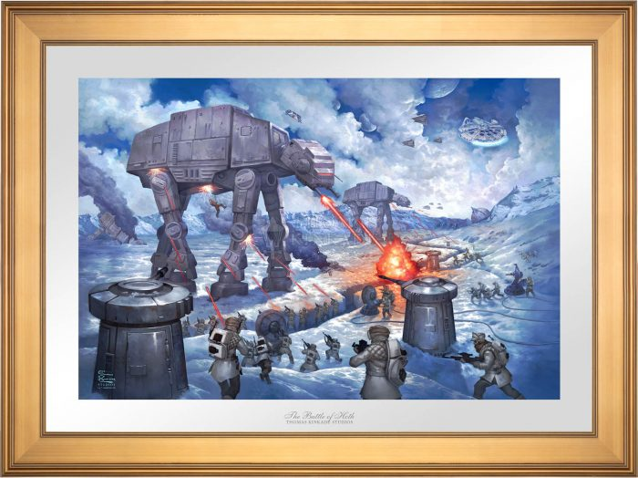 The Battle of Hoth™ – Limited Edition Paper