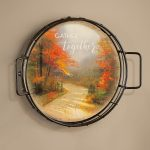 Autumn Lane – 12.5″ Wall Tray