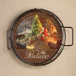 Santas Special Delivery – Personalized 12.5″ Wall Tray