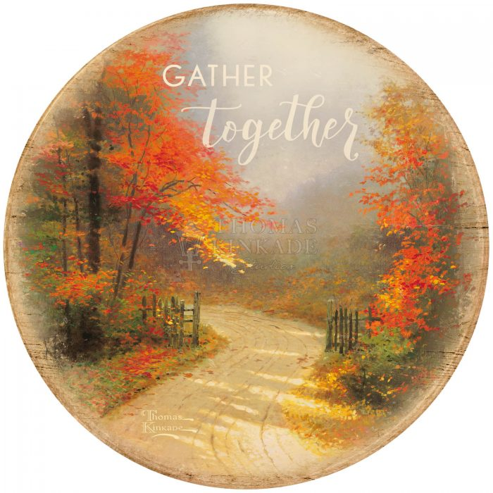 Gather Together – 12.5″ Wood Sign