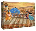 Jasmine Dancing in the Desert Sunset – 8″ X 10″ Gallery Wrapped Canvas