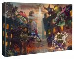 Spider-Man vs. the Sinister Six 10″ x 14″ Gallery Wrapped Canvas