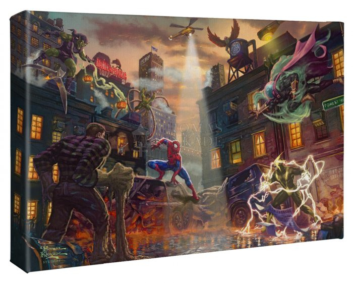 Spider-Man vx. the Sinister Six 10″ x 14″ Gallery Wrapped Canvas