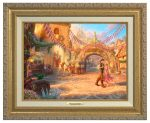 Rapunzel Dancing in the Sunlit Courtyard – Canvas Classics