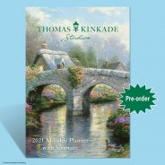 Thomas Kinkade Studios 2021 Engagement Calendar with Scripture