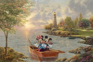 Mickey and Minnie Lighthouse Cove
