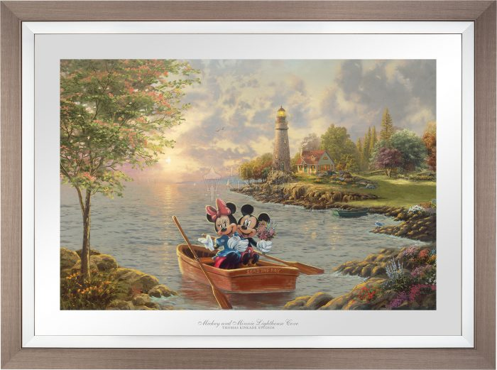 Mickey and Minnie Lighthouse Cove – Limited Edition Paper
